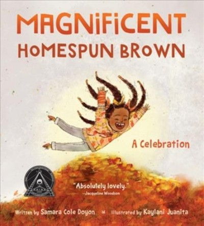 Book cover of Magnificent Homespun Brown by Samara Cole Doyon