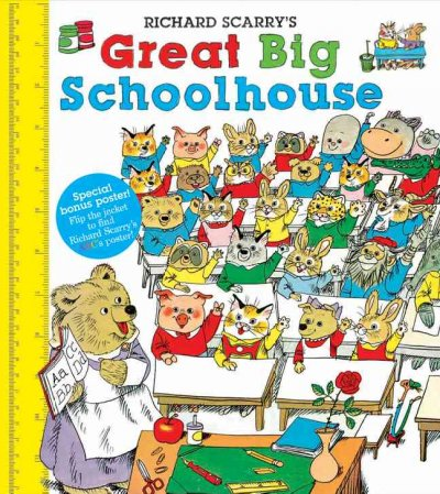 cover of Richard Scarry's Great Big Schoolhouse