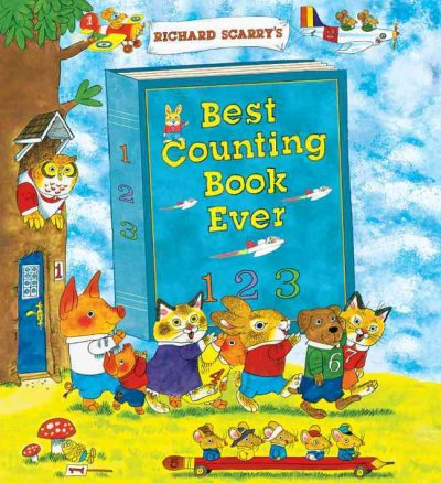 Richard Scarry's Best Counting Book Ever book cover