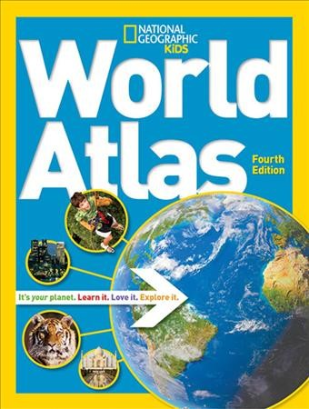 National Geographic Kids World Atlas book cover