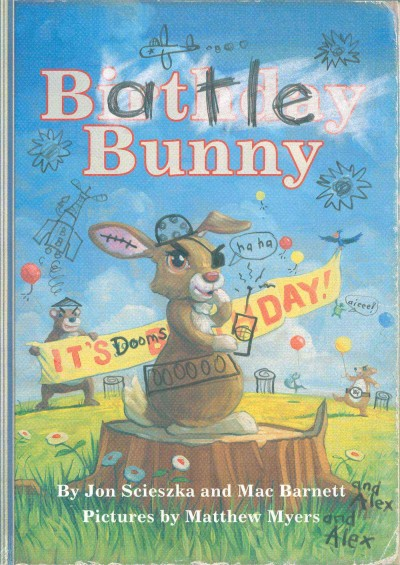 Battle Bunny book cover