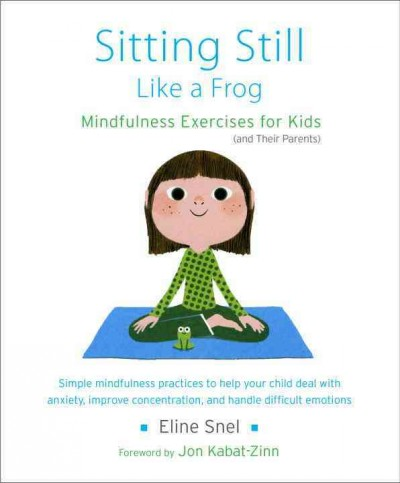Book cover image of Sitting still like a frog