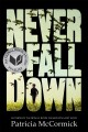 Never fall down a novel /