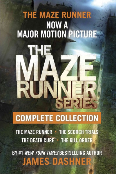 The maze runner series : complete collection /