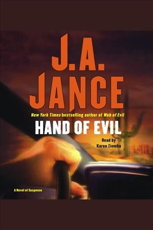 Hand of evil a novel of suspense /