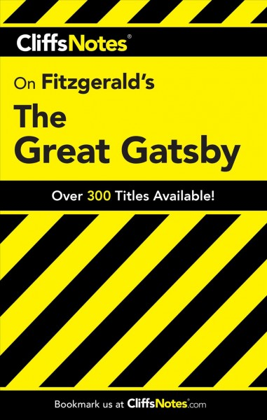 CliffsNotes Fitzgerald's The great Gatsby /