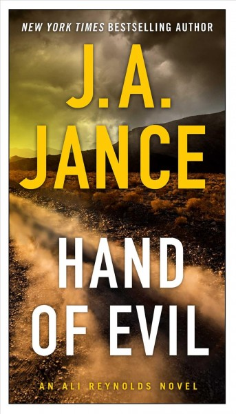 Hand of evil : a novel of suspense /