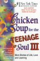 Chicken soup for the teenage soul III : more stories of life, love, and learning /