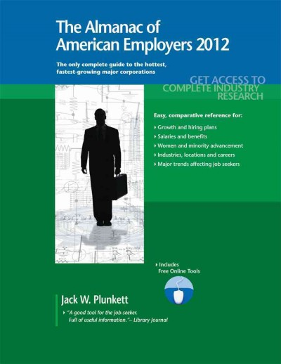 The Almanac of American Employers 2012 Market Research, Statistics and Trends Pe