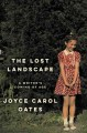 THE LOST LANDSCAPE : A WRITER