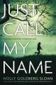 [Just call my name<br / >a novel by Holly Goldberg Sloan.]