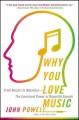 WHY YOU LOVE MUSIC : FROM MOZART TO METALLICA : THE EMOTIONAL POWER OF BEAUTIFUL SOUNDS