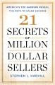 21 SECRETS OF MILLION-DOLLAR SELLERS : AMERICA