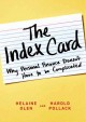 THE INDEX CARD : WHY PERSONAL FINANCE DOESN