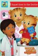 [Daniel Tiger's neighborhood. Daniel goes to the doctor.]