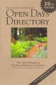 THE GARDEN CONSERVANCY OPEN DAYS DIRECTORY