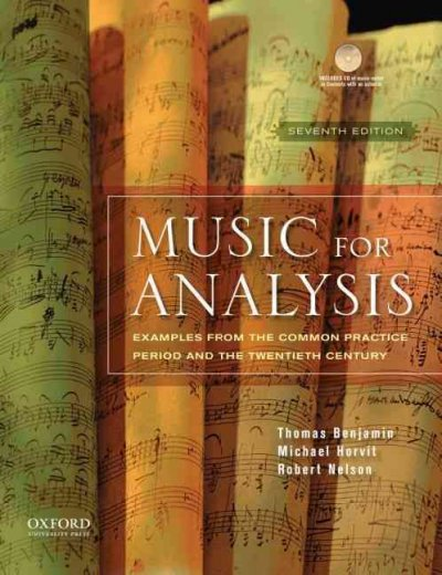 Music for analysis examples from the common practice period and the twentieth century /