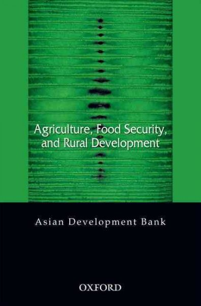 Agriculture, food security, and rural development
