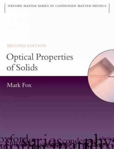 Optical properties of solids /