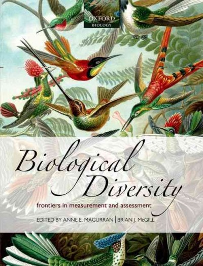 Biological diversity : frontiers in measurement and assessment