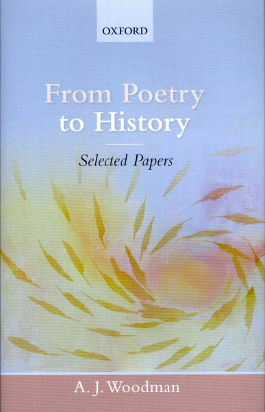 From poetry to history : selected papers