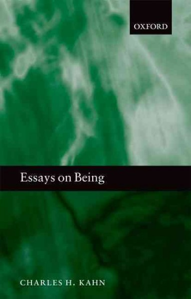 Essays on being