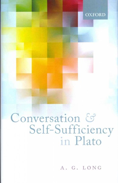 Conversation and self-sufficiency in Plato