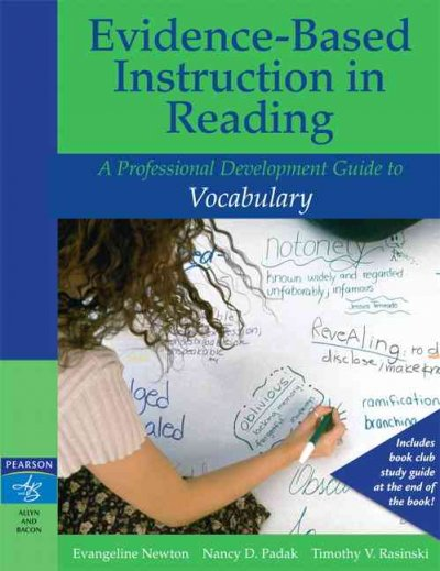 Evidence-based instruction in reading : a professional development guide to vocabulary /