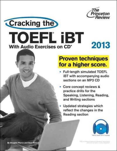 Cracking the TOEFL iBT [2013] /
