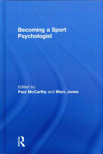 Becoming a sport psychologist /
