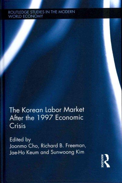 The Korean labour market after the 1997 economic crisis