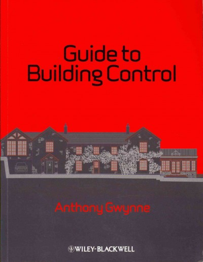 Guide to building control ; : for domestic buildings