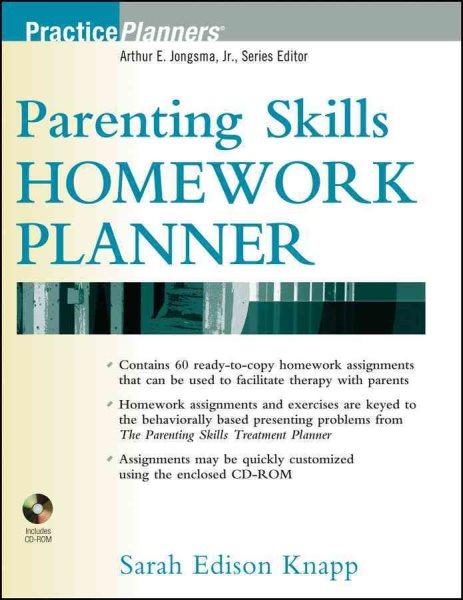 Parenting skills homework planner /