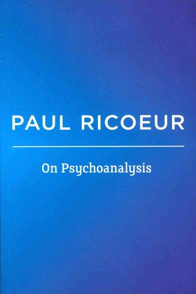 On psychoanalysis /