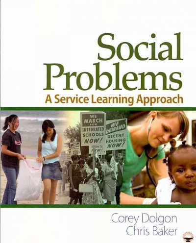 Social problems : a service learning approach /