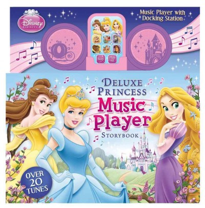 Disney Princess Music Player Storybook With Docking Station