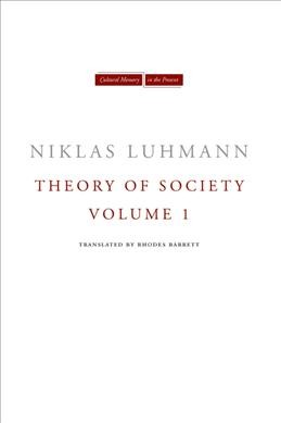 Theory of society /