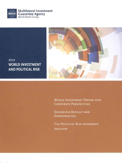 World investment and political risk.
