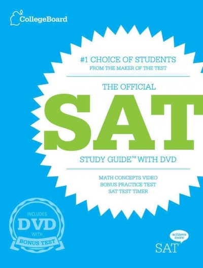 The official SAT study guide with DVD.