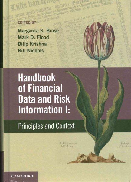 Handbook of financial data and risk information