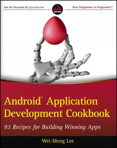 Android application development cookbook : : 93 recipes for building winning apps