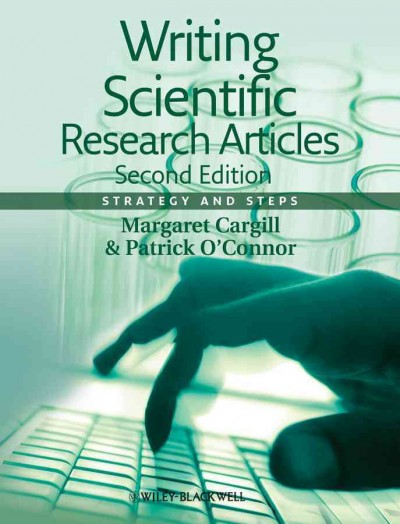 Writing scientific research articles : strategy and steps /