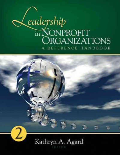 Leadership in nonprofit organizations : a reference handbook