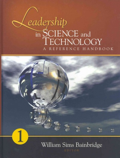 Leadership in science and technology : a reference handbook