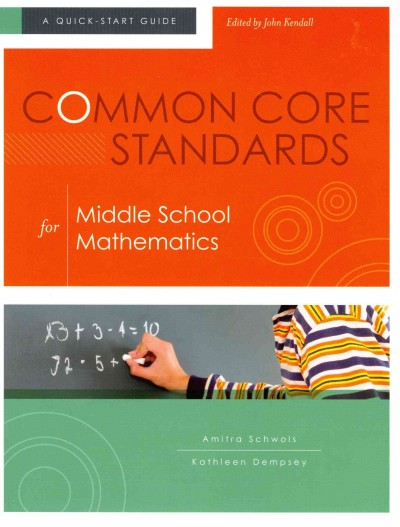 Common core standards for middle school mathematics /