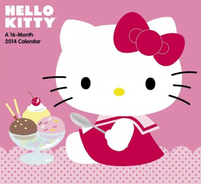 Hello Kitty 2014 Calendar(Wall)
