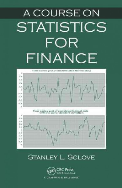 A course on statistics for finance /