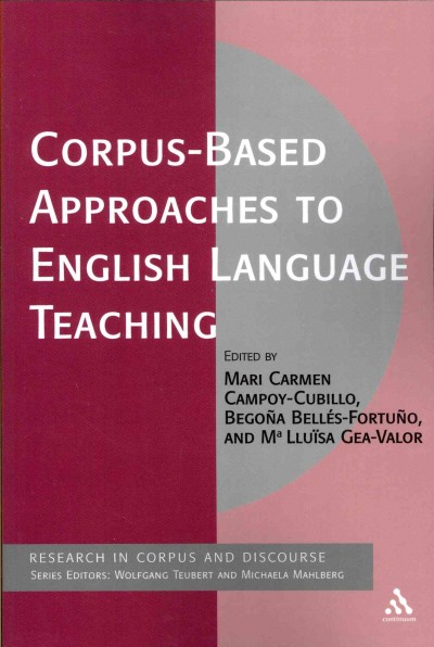 Corpus-based approaches to English language teaching /