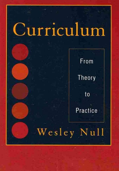 Curriculum : from theory to practice