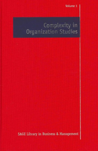 Complexity in organization studies
